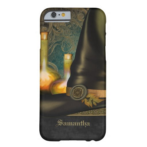 Witches Hat Personalized Barely There iPhone 6 Case