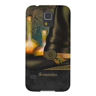 Witches Hat Personalized Galaxy S5 Case