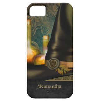 Witches Hat Personalized iPhone SE/5/5s Case