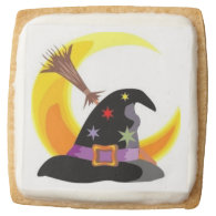 Witches Hat Square Sugar Cookie