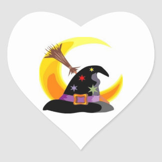 Witches Hat Stickers