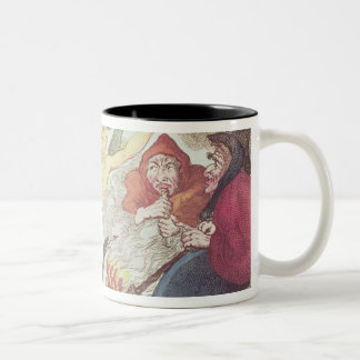 Witches in a Hayloft Two-Tone Coffee Mug