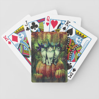 Witches in Disguise Bicycle Playing Cards