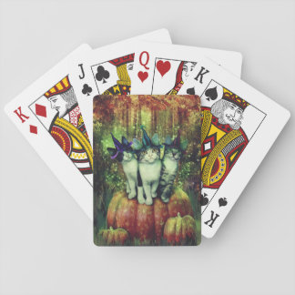 witches in disguise playing cards