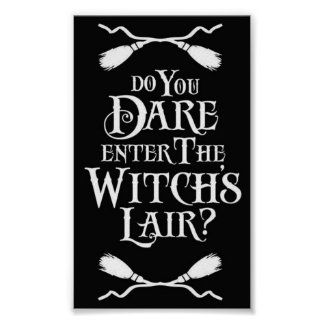 Witches Lair Poster