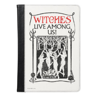 Witches Live Among Us iPad Air Case