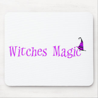Witches Magic Hat Mouse Pad