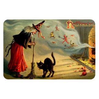 Witches' Magic Rectangular Photo Magnet
