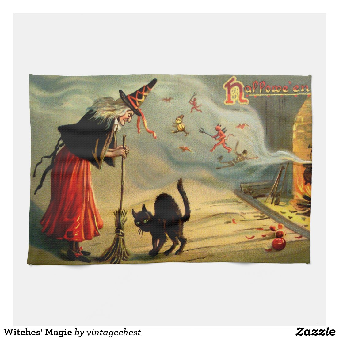 Witches' Magic 3 towels.