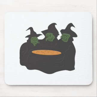 Witches Mouse Pad