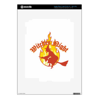 Witches Night iPad 3 Decals