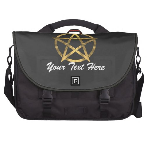 Witches occult Pentagram Bags For Laptop