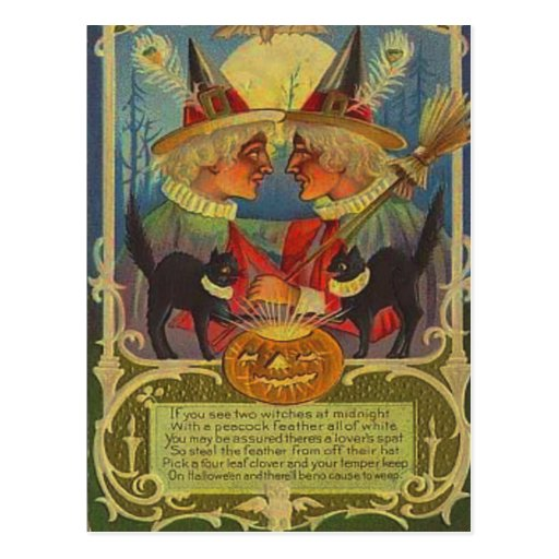Witches Postcard