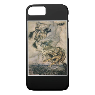 Witches Ride by Arthur Rackham iPhone 7 Case