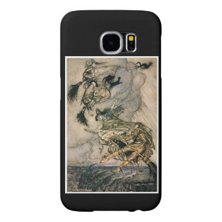Witches Ride by Arthur Rackham Samsung Galaxy S6 Cases