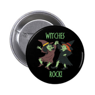Witches Rock Buttons