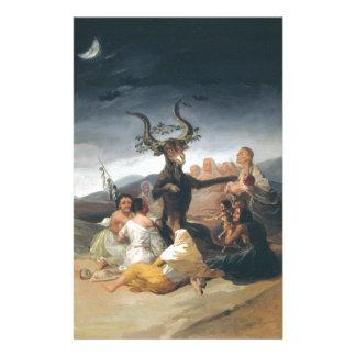 Witches Sabbath - Francisco de Goya (1797-1798) Stationery