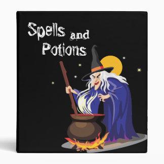 Witches Spells Binder