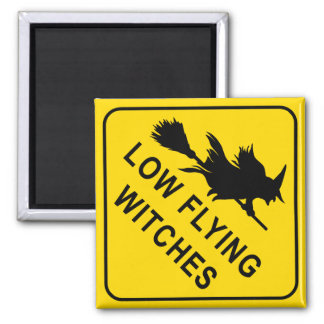 Witches Square Magnet
