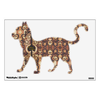 Witches Starry Night Cat (Left) Wall Sticker