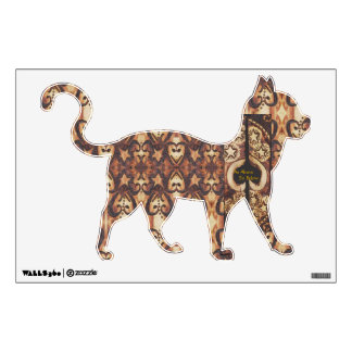 Witches Starry Night Cat (Right) Wall Sticker