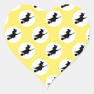 Witches Heart Sticker