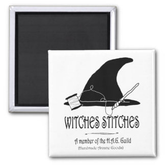 Witches Stitches H.A.G. Magnet
