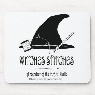 Witches Stitches H.A.G. Mousepad