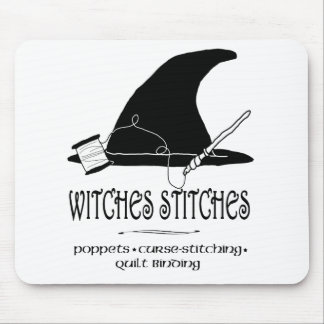 Witches Stitches Mousepad