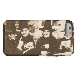 Witches Tea party - sepia Tough iPhone 6 Case