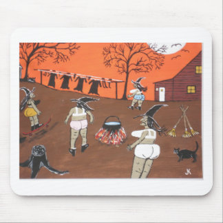 Witches Wash Day Mouse Pad
