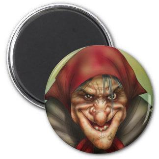 Witchie 2 Inch Round Magnet