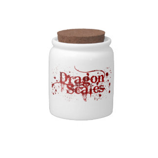 Witchin' Ingredients: Dragon Scale Jar Candy Jars