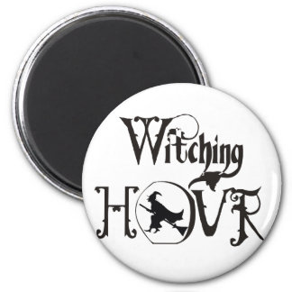 Witching Hour 2 Inch Round Magnet
