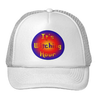 Witching-Hour Mesh Hat