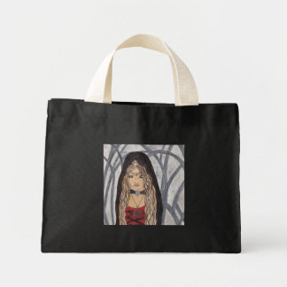 Witching Hour Mini Tote Canvas Bags