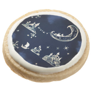Witching Hour Round Premium Shortbread Cookie
