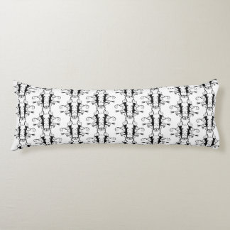 Witching Hour Pattern Cotton Body Pillow