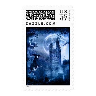 Witching Hour Postage Stamp