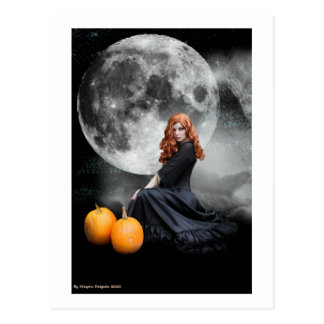 Witching Hour Postcard