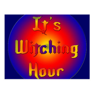 Witching-Hour Postcard