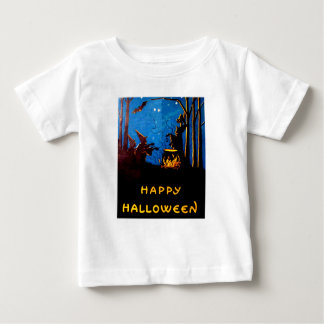 Witching Hour (Vintage Halloween Card) Baby T-Shirt