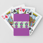 Witchipoo goteó adorno del modelo baraja cartas de poker