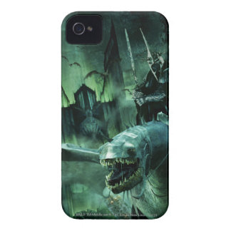 Witchking que monta Fellbeast iPhone 4 Case-Mate Cárcasas