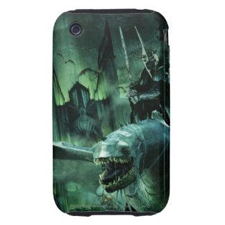 Witchking que monta Fellbeast Tough iPhone 3 Fundas
