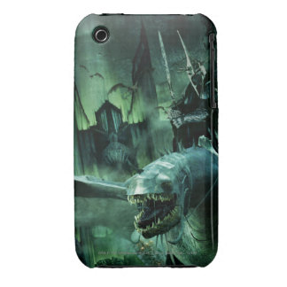 Witchking que monta Fellbeast Case-Mate iPhone 3 Cárcasas