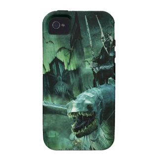 Witchking que monta Fellbeast iPhone 4 Funda