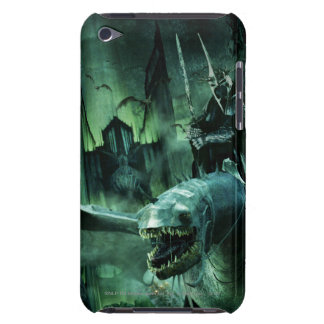 Witchking que monta Fellbeast iPod Touch Case-Mate Coberturas