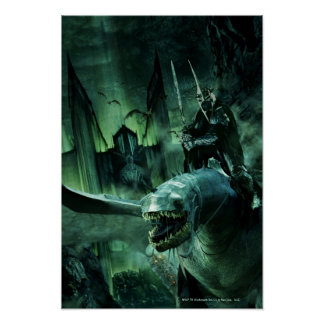 Witchking que monta Fellbeast Poster