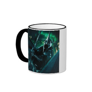 Witchking with sword ringer coffee mug